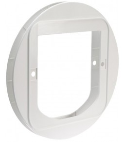 Installation adapter for SureFlap cat doors