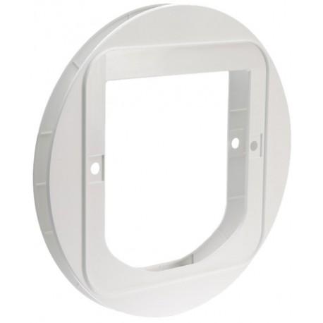 Installation adapter for SureFlap cat doors