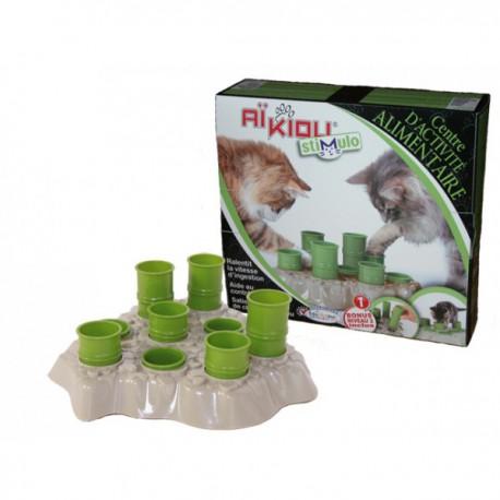 Stimulo cat kibble dispenser