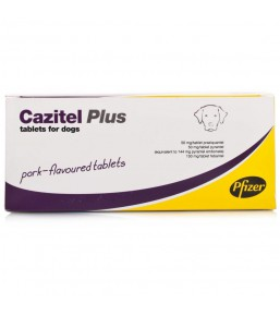 Cazitel Plus (XL) dog dewormer
