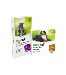 Drontal - Chewable dog dewormer