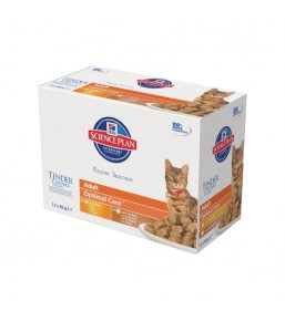 Science Plan Feline Adult Multipack Poultry Selection