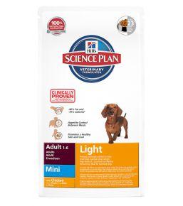 Hill's Science Plan Canine Adult Light Mini - Kibbles