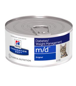 Hill's Prescription Diet m/d Feline minced liver - canned food