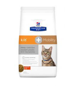 Hill's Prescription Diet k/d + Mobility Feline - Kibbles
