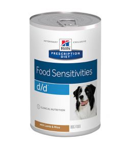 Hill's Prescription Diet D/D Canine Lamb and Rice - Cans