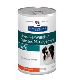 Hill's Prescription Diet W/D Canine - Canned dog food