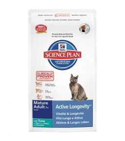 Science Plan Feline Mature Adult 7+ Active Longevity Tuna - Kibbles