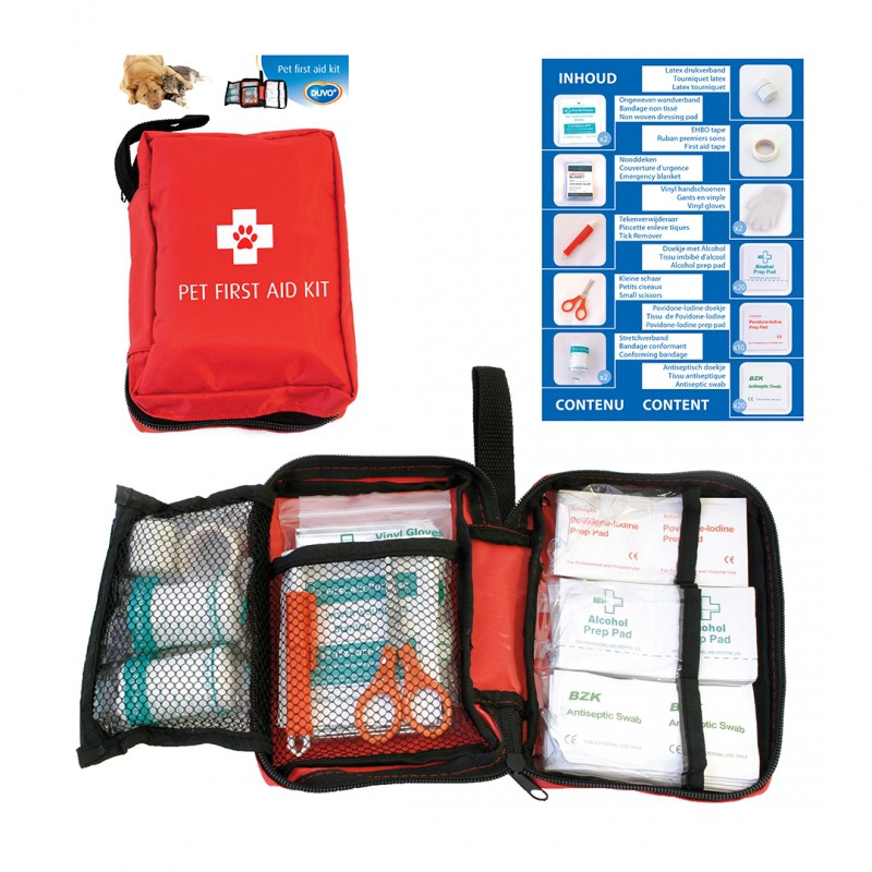 Free download pets first-aid kit checklist. | First aid