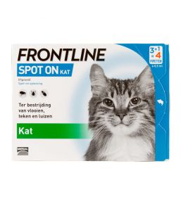 Frontline Spot On - Anti-tick and anti-flea pipettes for cats