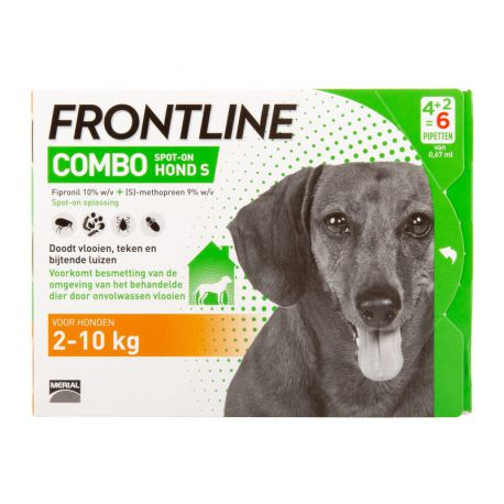 Frontline Combo Dog - Anti-flea and anti-tick pipettes S