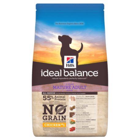 Hill's Ideal Balance Canine Mature Adult No Grain - Kibbles