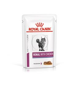 Royal Canin Renal cat food - Wet food pouches Chicken