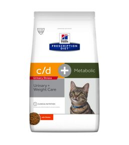 Hill's Prescription Diet c/d Feline Urinary Stress Metabolic - Kibbles