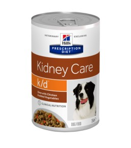 Hill's Prescription Diet Canine K/D chicken and vegetable stew – cans
