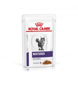 Royal Canin Neutered Balance for cats - Wet food pouches