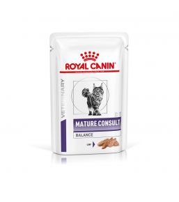 Royal Canin Senior Consult Stage 1 for cats - Wet food pouches