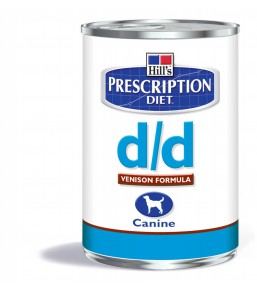 Hill's Prescription Diet D/D Canine Venison - canned dog food