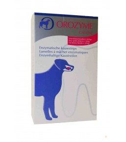 Orozyme dental strips